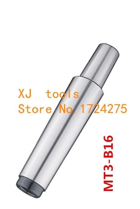 US Stock No.1 Morse Taper MT1 With B16 Arbor For Drill Chuck