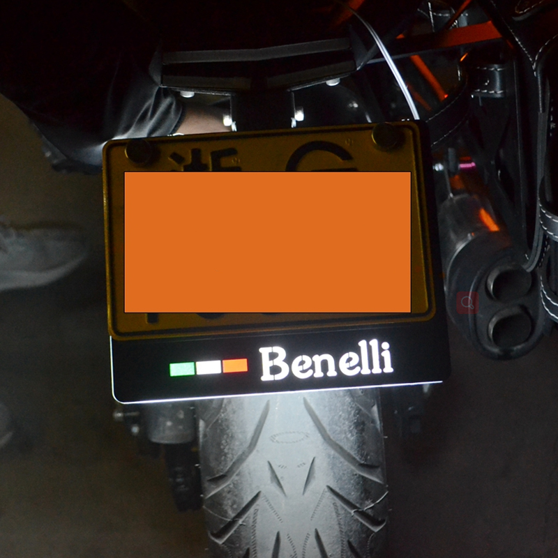 Motorcyc leIlluminate license plate multi-function modified bracket FOR Benelli Leoncino 500 BJ500 motorcycle soft grip gripper soft seat cover for benelli leoncino 500 bj500