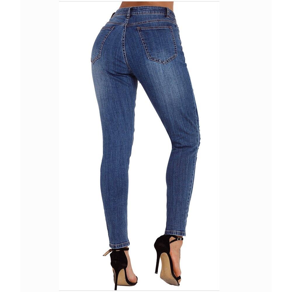 Jeans Gran Bikini Más Blue Hueco Pantalones Vendaje Grande Alta De Acampanados Cintura Retro Vaqueros Mujer Moda Denim Arrancó Tamaño xTtq0BfB