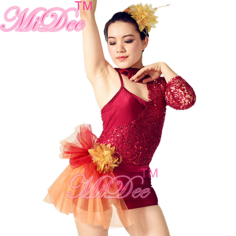40e969f6dd29 MiDee Jazz Dance Costumes Outfits Contemporary Dance Costumes For ...