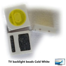 200pcs EVERLIGHT  Lextar AOT LED Backlight High Power 1W 3030 3V-3.6v Cool white 110LM TV Application smd led diode