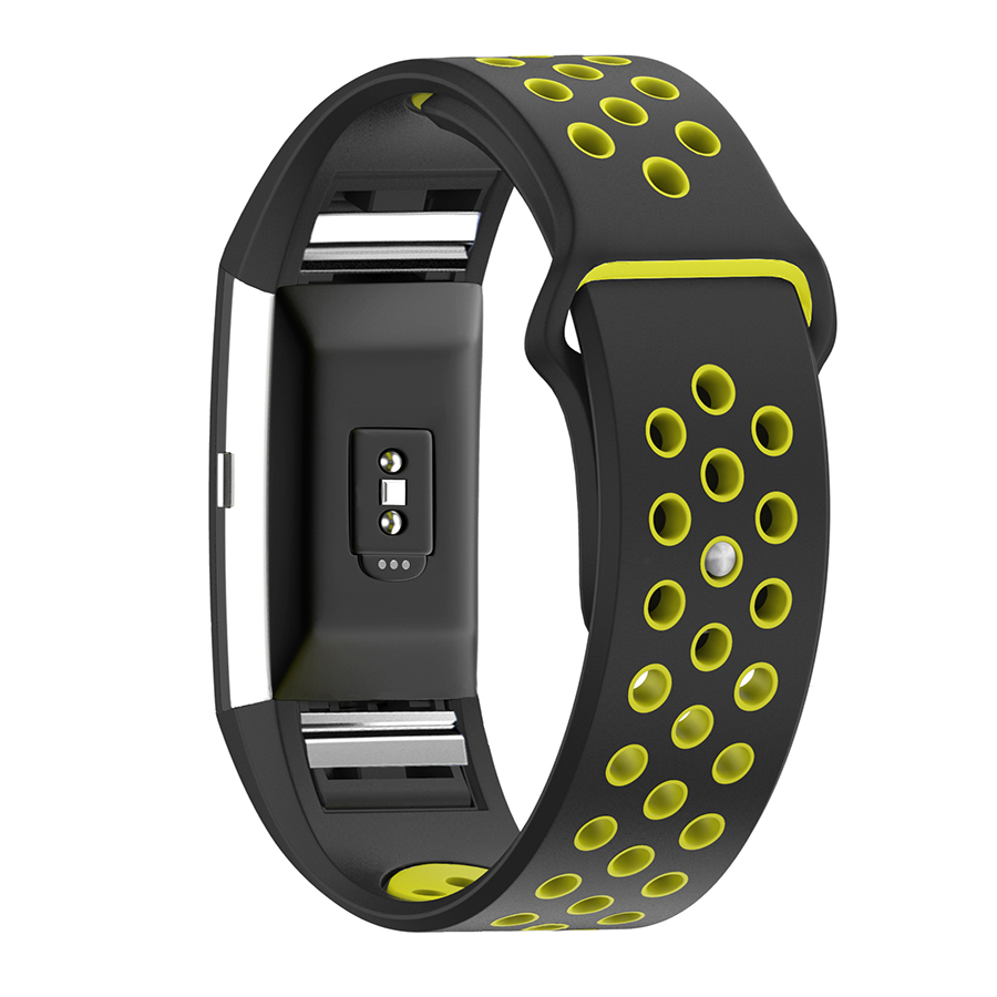 HAOBA Band for Fitbit Charge 2 Sport Silicone Replacement Band Strap For Fitbit Charge 2 Bracelet Smart Wristband Smart Accessor