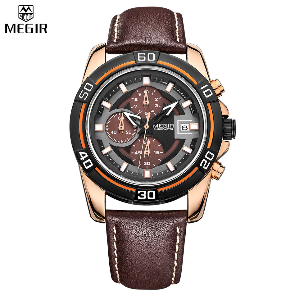 aliexpress buy megir chronograph sport