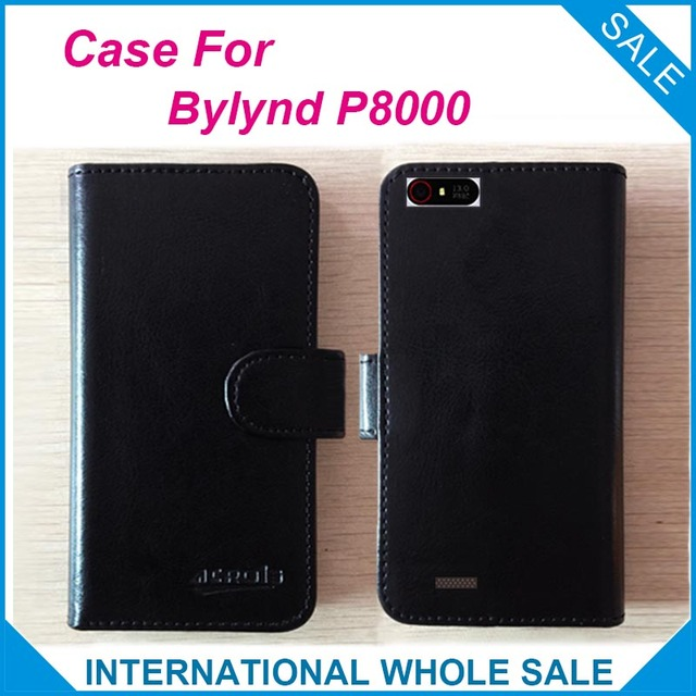 Factory Price Hot!! Bylynd P8000 Case, 6 Colors High Quality  Original Leather Exclusive Cover For Bylynd P8000 Case Tracking