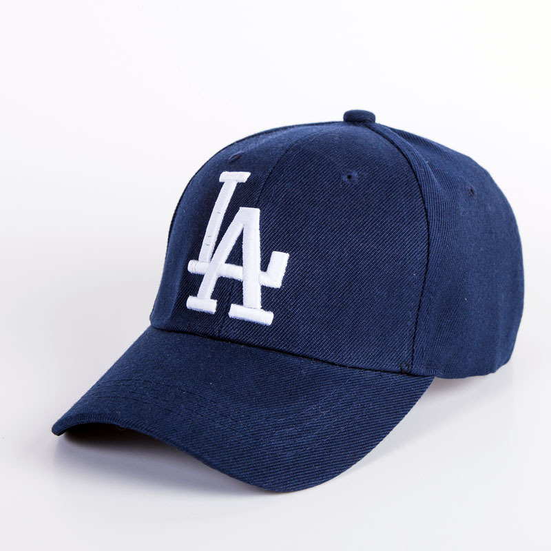 2018 New letter Unisex Baseball Caps LA Dodgers Embroidery Hip Hop bone Snapback Hats Men Women Adjustable Gorras Casquette fashion raised pile rayon baseball cap rose pink girl hiphop caps sue eyelash embroidery casquette unisex active hats adjustable