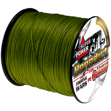 300M/328yards 16strands braided line hollowcore 0.16mm-2.0mm pe fiber 20-500LB fishing wires for saltwater fishing cords rope