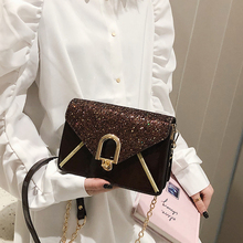 Badouqiu Fashion Sequin Women Bag Quality Leather Handbags Shoulder Bags Woman Messenger Crossbody Bolsas Sac a Main A5