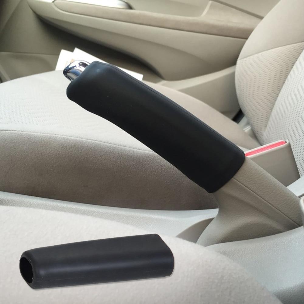 beler Car Auto Silicone Gel Anti Slip Parking Hand Brake Cover Case Sleeve Black for VW Audi BMW Mercedes-Benz Mazda3 Buick
