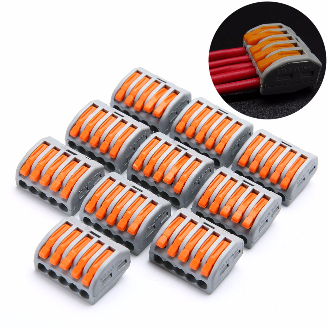 Cable Connector Nylon 4 cores Wire to Wire 4 pins Appliances Reusable Industrial