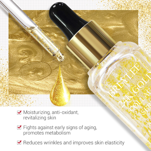 24K Gold Collagen Serum