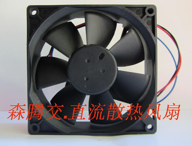 The original Delta AFB0924VH-F00 24V 0.40A 92*92*25 3 line with speed inverter industrial computer cooling fan