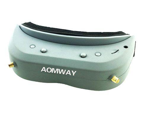 Aomway Commander Goggles V1 2D 3D 40CH 5.8G FPV Video Headset Support  DVR Headtracker iron commander экскаватор металл 234 дет 816b 136 г44213