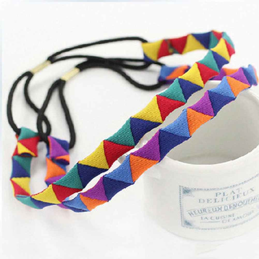 Women Beach Colorful Hair Bands Spa Swim Headband Supplies Headwear Accessories Geometric Band In From S Clothing
