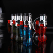 Outdoor exploration tool Compact Torch Turbo Lighter Gas Windproof Jet Butane Portable Spray Gun Cigar