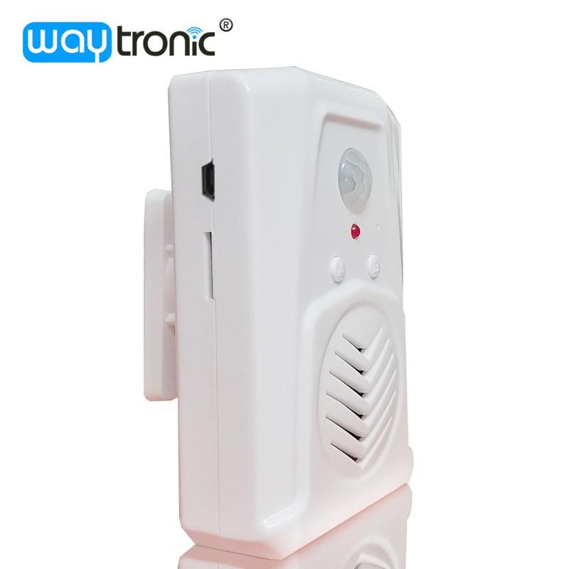 Wireless PIR Motion Sensor Advertising Audio Player Broadcast Device Voice Reminder Shelf Talker For Supermarket Show Room fpv 1 2ghz 100mw 4ch wireless audio