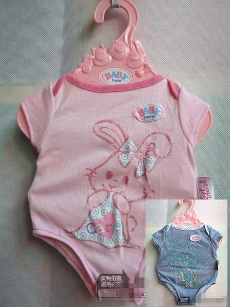 Baby Born font b Doll b font Clothes Fit 43cm Zapf Baby Born font b Doll