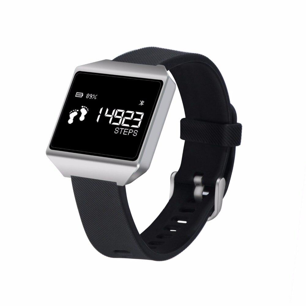 bluetooth Smart waterproof  heart rate Bracelet Fitness Tracker Watch Alarm Clock Sleep Monitor sport smart band