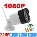 Câmera ip wi-fi 1080 P vigilância cctv ao ar livre sistema de câmera de segurança sem fio À Prova D' Água mini ipcam wi-fi infravermelho casa JIENU