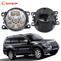 2 Pieces Car Light LED Daytime Running Light Fog Lamp DRL 12V For Mitsubishi Pajero 4