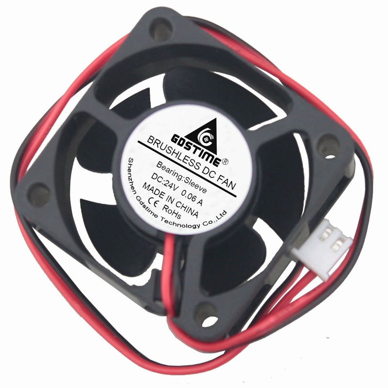 Gdstime 1 Piece 24V 4cm 40x40x20mm DC Brushless Cooler Cooling Fan 40mm x 20mm 4020 2Pin 0.06A набор jtc 4027