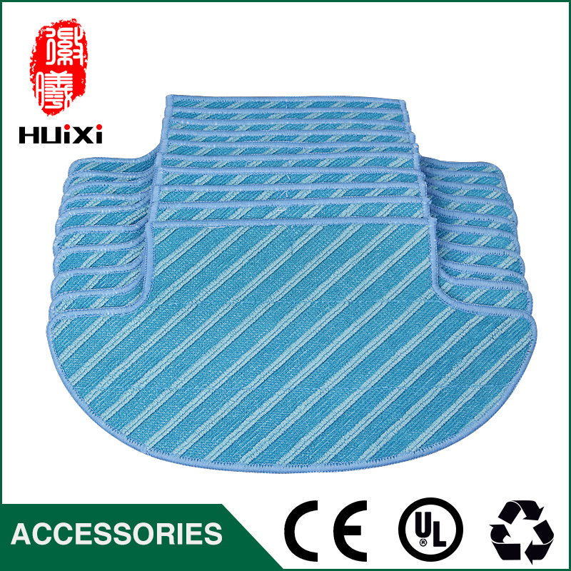 10pcs 289*146*168mm Mop Washable Dishcloth for D36A TEK TCR-S TCR-S2 TCR660 M1 Robot Vacuum Cleaner Accessories to Home Cleaning