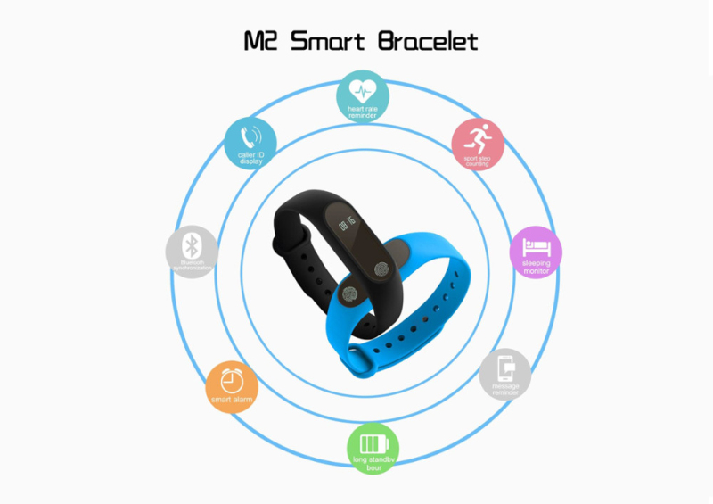 DTNO.I mi band 2 M2 Smart Bracelet Heart Rate Monitor Bluetooth Smartband Health Fitness Tracker SmartBand Wristband 4