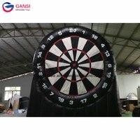 Горячий продукт надувные футбол dartboard игры, портативная надувная мишень для дротиков для взрослых игр