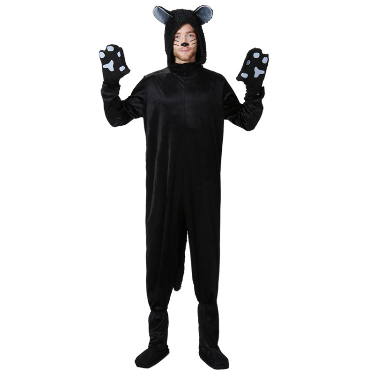Umorden Halloween Purim Party Costumes Family Matching Animal Black ... b3282acda41c