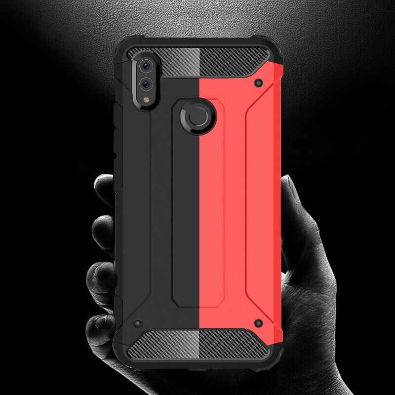 Luxury Shockproof Armor Case Cover On The For Huawei Honor 10 9 Lite 7C 7A 8X P Smart 2019 Case For Huawei Y6 Y7 Prime 2018 Case