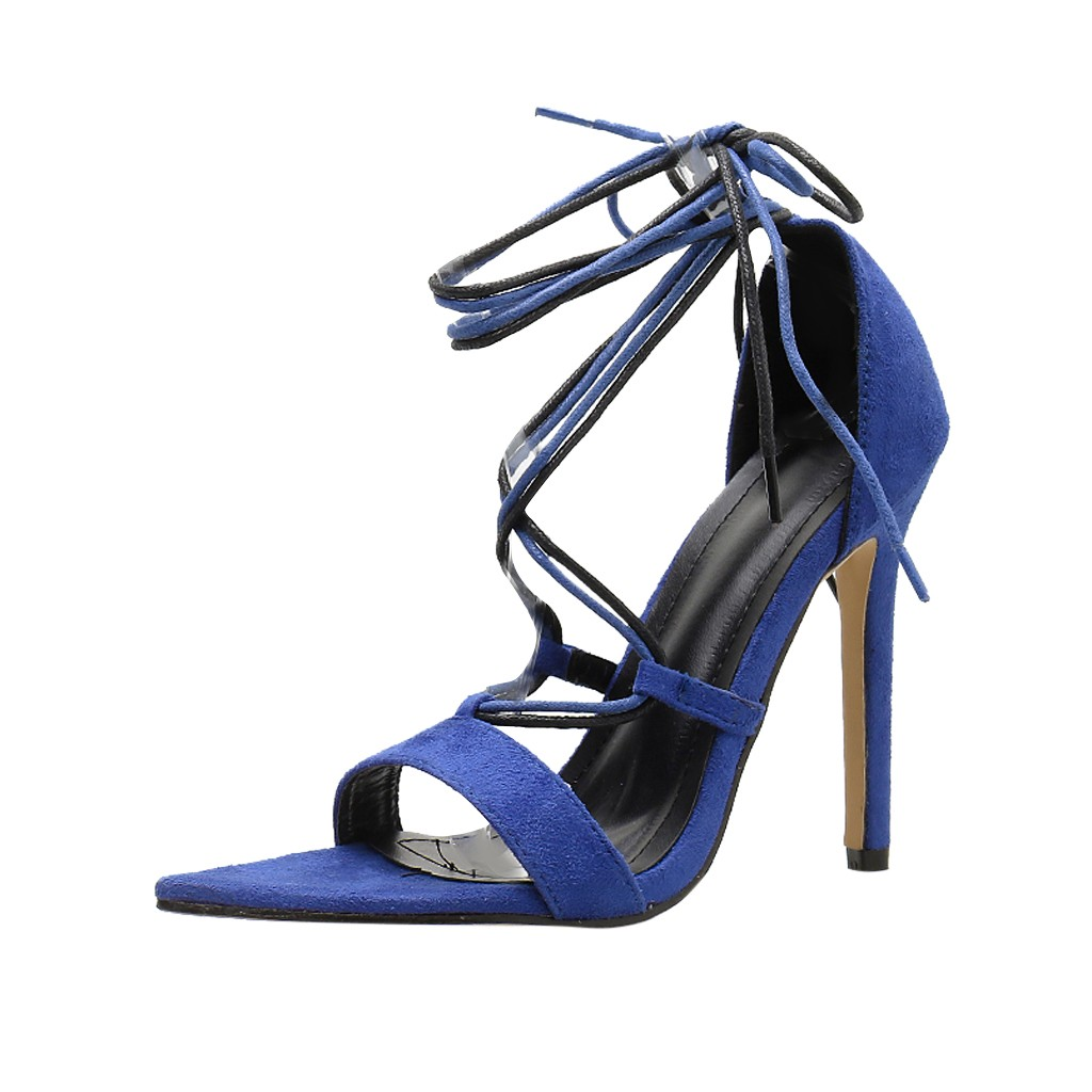 DOUDOULU  womens summer shoes High Heel Sandals female Casual Shoes Heels Pointed sandals Waterproof Ankle sandalias mujer 2019DOUDOULU  womens summer shoes High Heel Sandals female Casual Shoes Heels Pointed sandals Waterproof Ankle sandalias mujer 2019