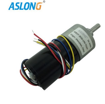 JGB37-3650 DC brushless gear motor 24V wholesale 12 30v 8 1040rpm jgb37 3650 gear motor dc 12v brushless engine d shaft for common use bringsmart