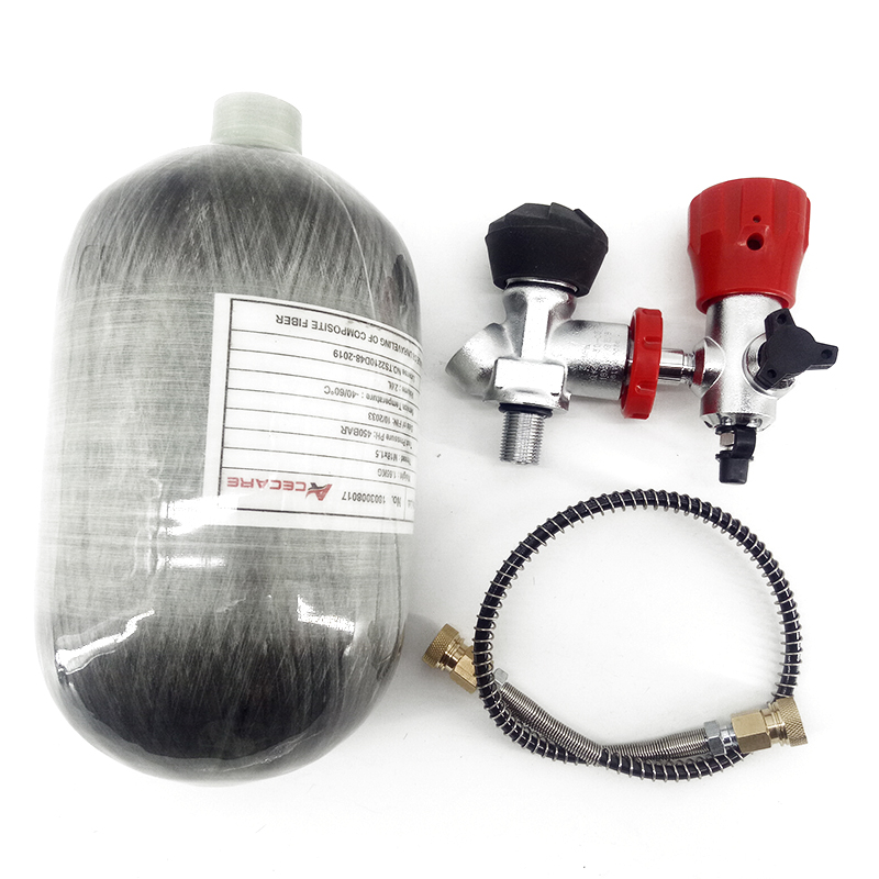 AC520311 2L Mini Scuba/Diving Tank Paintball Pcp Airforce/Condor Cylinder  Carbon Air Tank With Valve Filling Station