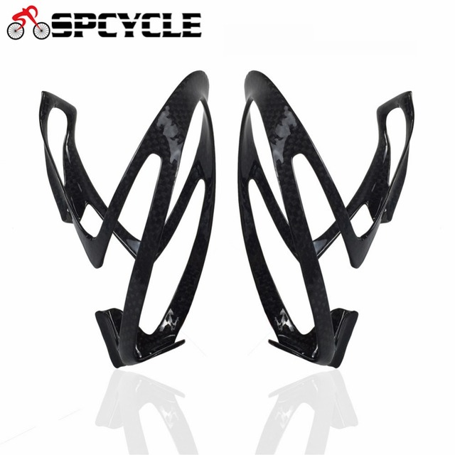 Spcycle Ultralight Carbon Bicycle Water Bottle Cage 3K Glossy Full Carbon MTB Road Bike Bottles Cage Cycling Bicycle Accessories