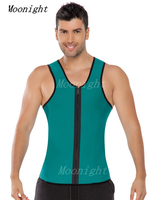 2015 Men Weight Loss Workout Exercise Sport Neoprene Vest Sauna Tank Top Waist Cincher Trainer Gym
