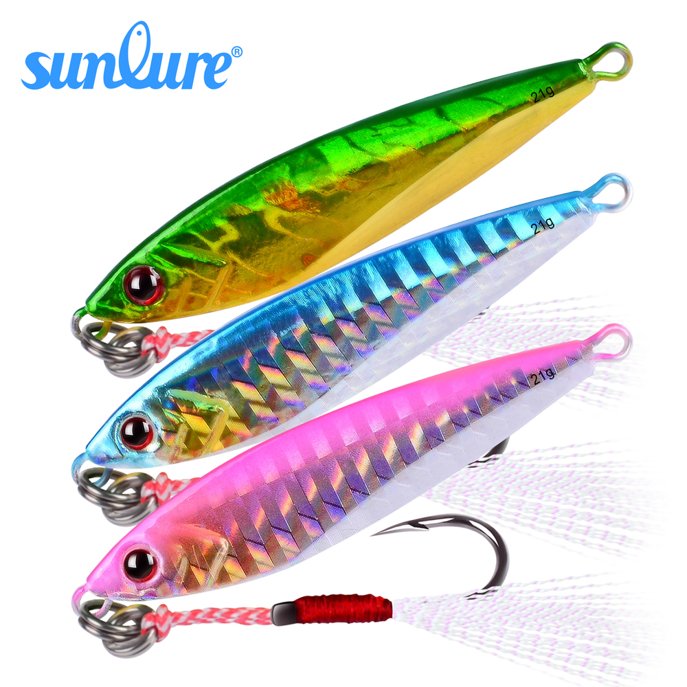 1PC Metal Fishing Lures 6cm-2.36