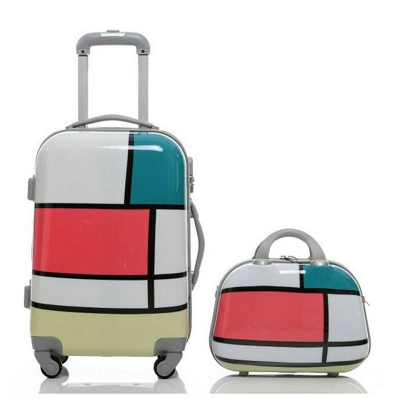 Aliexpress.com : Buy Women Travel Suitcase&Girls Geometric ...