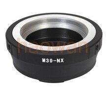 39 мм LTM L39 M39 Винт объектив NX Крепление Переходное Кольцо для Samsung NX5 NX10 NX11 NX20 NX100 NX200 NX300 NX2000 NX3000 камера