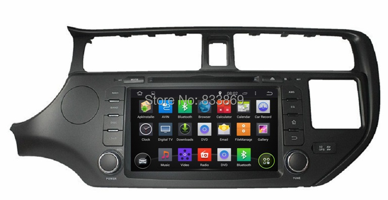 1024 600 HD 2 din 8 Android 5 1 Car PC Radio DVD for Kia K3