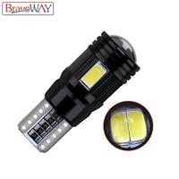 canbus שגיאה חינם שגיאה CANbus T10 נורת LED 2pcs BraveWay חינם 5730 6SMD W5W מנורה אוטומטי פנים עמילות חנייה אורות רכב סטיילינג 194 168 12V (4)