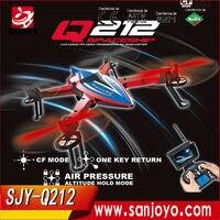 Новые Drone Q212K вертолет 2,4 ГГц Headess Mode1 ключ возврата RC горючего Поддержка Wi Fi HD Камера RTF