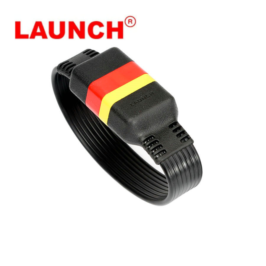 LAUNCH OBD2 Extension Cable for X431 V/V+/PRO/PRO3/Easydiag 3.0/Mdiag/Golo Main OBDII Extended Connector 16Pin male to FemaleLAUNCH OBD2 Extension Cable for X431 V/V+/PRO/PRO3/Easydiag 3.0/Mdiag/Golo Main OBDII Extended Connector 16Pin male to Female