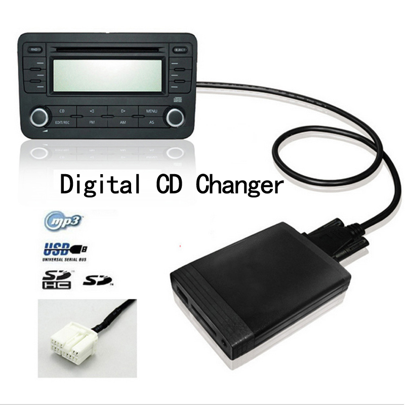 DY 2016 For Usb Car Stereo Adapter With USB/SD/AUX