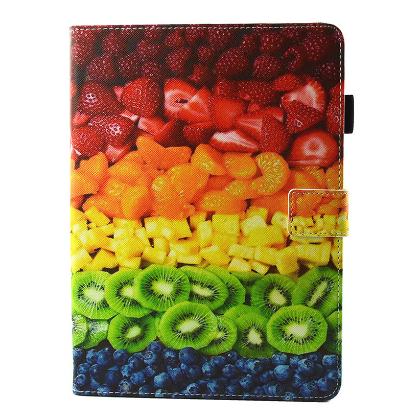 Cartoon Pattern Funda Tablet For Ipad Air 2 Case For Apple Ipad Air2 Ipad 6 Smart Case Cover Silicone PU Leather Shell