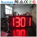 Leeman 10 дюймов электрический большой 10 дюймов 4 цифры 88 : 88 зеленый цвет на открытом воздухе из светодиодов время показатель температуры знак цифровой знак