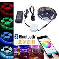Smart Bluetooth RGBW APP Led Controller 5M RGBW LED Strip Light Set 12V 3A Power Adapter