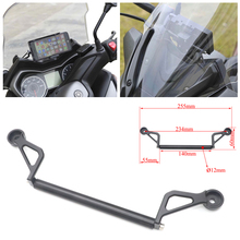 XMAX Motorcycle Front Phone Stand Holder Smartphone Phone GPS Navigaton Plate Bracket For Yamaha XMAX 300