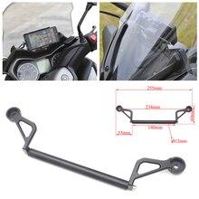 XMAX z przodu motocykla stojak na telefon uchwyt Smartphone telefon z gps nawigacja płyta montażowa dla Yamaha XMAX 300