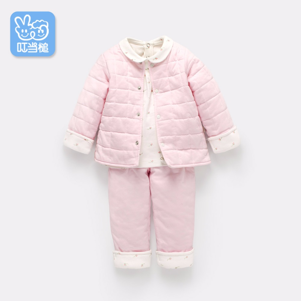 b4e9eb60c Dinstry baby cotton padded clothes keep warm winter jacket thickened ...