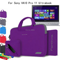 Для Sony VAIO Pro 11 Ultrabook SVP11213CX 11.6 ''Ноутбук 4 в 1 Портативный Хлопок Ткань Ручка Для Переноски Чехол мешок