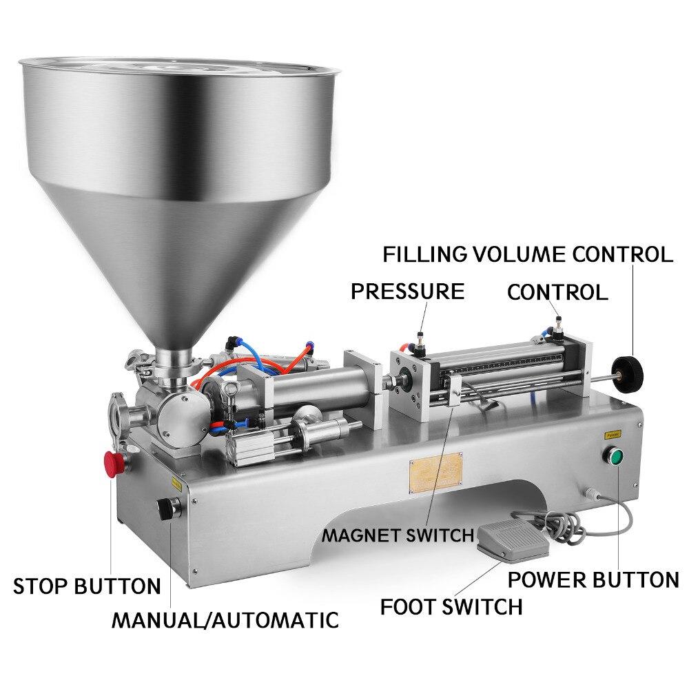 Semi Automatic Pneumatic Liquid Filling Machine